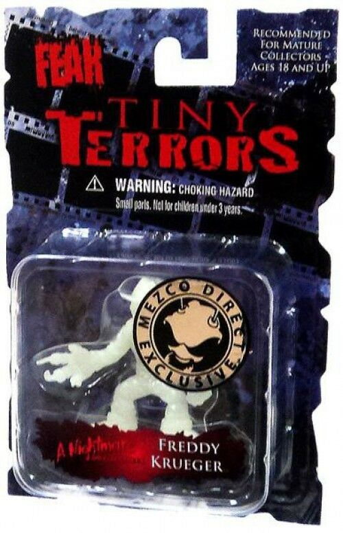 Cinema of Fear Tiny Terrors Series 1 Freddy Krueger Mini Figure