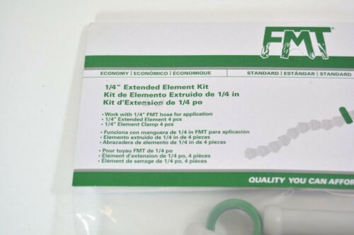 """4 Piece 1//4/"""" FMT® Extended Element Kit with  Clamp Flex Coolant Hose Adapter"""