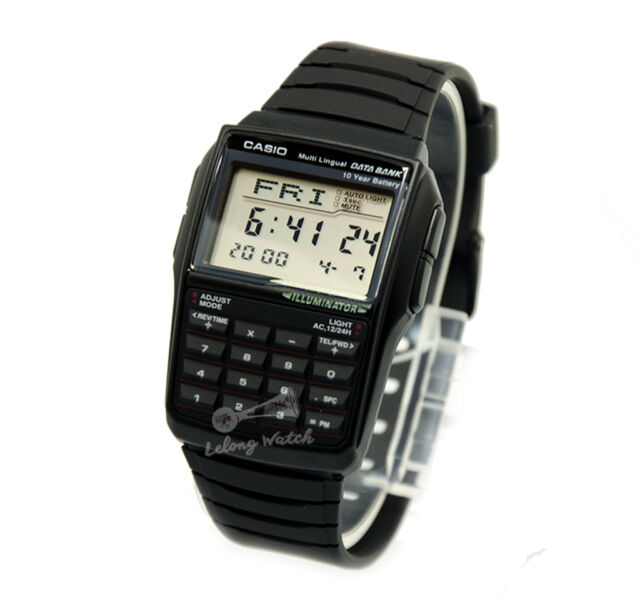 -Casio DBC32-1A Data Bank Watch Brand New & 100% Authentic