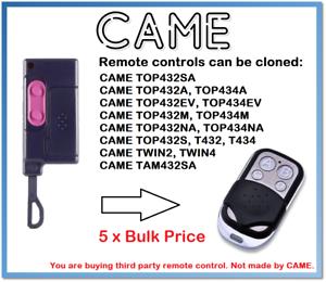 5 x vint TOP432S Universal Remote Control Duplicator 2-channel 433.92 MHz.-afficher le titre d`origine HA11g86T-07141239-654294713
