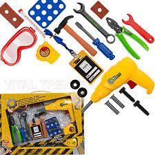 Bambini bimbi insieme di strumenti KIT giocattolo giochi di simulazione, prescuola lavoro fai da te negozio Tool Kit Nuovo