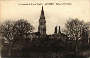 CPA Environs de St-JEAN-d'ANGÉLY - Fenioux - Église (104622)