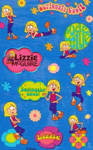 Maxi LIZZIE MCGUIRE SERIOUSLY COOL Sandylion Stickers 2 SHEETS