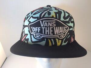 c157a42eeee Women s trucker style hat Vans off the wall logo multi color ...
