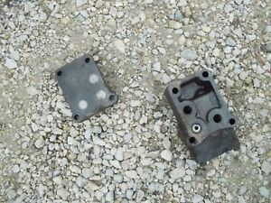 Details about Farmall 460 560 RC tractor IH hydraulic front block & cov for  valves behind dash
