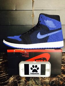 2483fade62e1 Nike Air Jordan 1 Retro High OG Flyknit  Royal  Blue 919704-006 Size ...