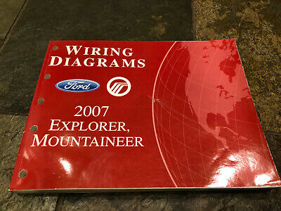 2007 Ford Explorer Mercury Mountaineer Wiring Diagrams ...