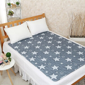 Image Is Loading Hanil Electric Blanket Bed Pad Heating Mattress Star