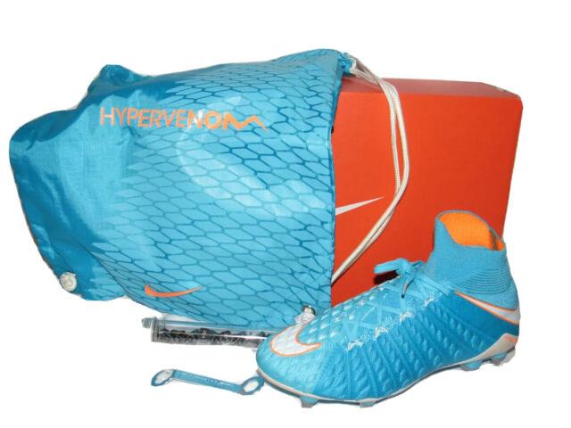Nike Hypervenom Phantom 3 DF SG Pro Soccer Cleats 881548-415 Sz 9.5 Mens Sz 8