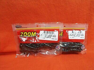 12cnt 2 PCKS ZOOM Ultra Vibe Speed Craw #080-394 TILAPIA