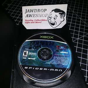 Spider-Man-Original-Disc-Only-WRITING-WEAR-ORIGINAL-XBOX-DISC-ONLY-USED