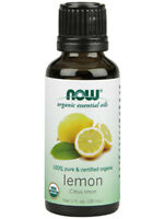 Now Organic Lemon Oil 1 Oz
