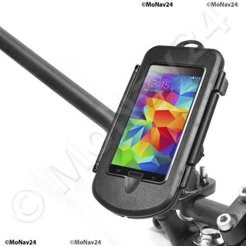 Samsung Galaxy S5 Active Motorrad Halterung Hardcase RAM Lenkerschelle