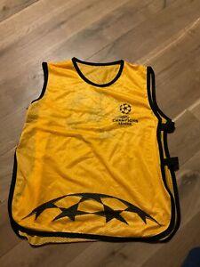 UEFA Champions League Mesh Bib Jersey Hesje Vest Jacket Orange