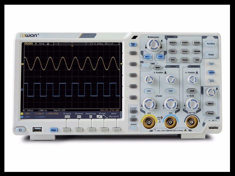 OWON XDS3302 Plus 300MHz 2 Kanal 8bit 2,5GS 2,5GS 2,5GS s Oszilloskop + Options Osciloscop | Outlet Online Store  | Für Ihre Wahl  | Export  401db8