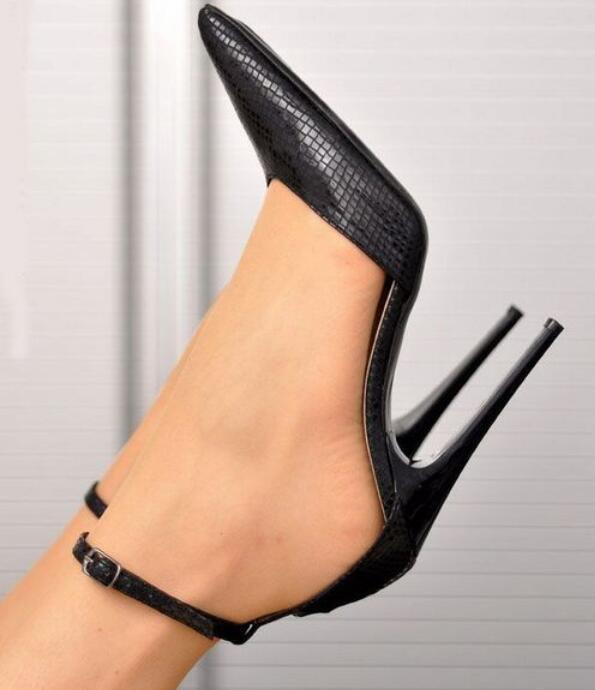 Moda Sexy para Mujer bomba 13cm Puntera Puntiaguda Stilettos Stilettos Stilettos Tacón Alto Zapatos Reino Unido Sz37-45  suministramos lo mejor