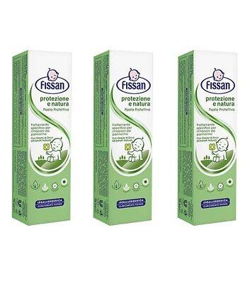 Systematic 3pz Fissan Pasta Protezione E Natura 75ml Contro Irritazioni E Arrossamenti Health & Grooming