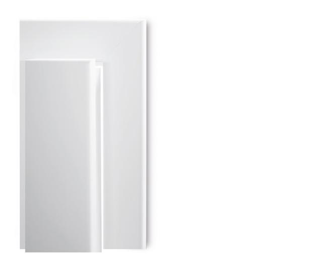Prüm Türzarge CPL Touch Pera Grau mit Rundkante Bekleidungsbreite 60 mm