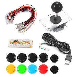 Zero-Delay-Arcade-Game-USB-Joystick-Buttons-para-MAME-Raspberry-Pi-1-2-3-AC700