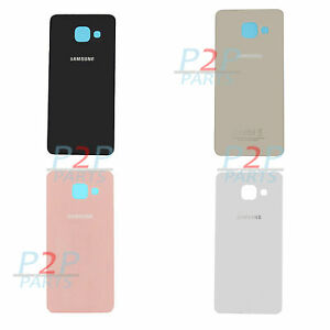 online retailer 0ac4d ec5a8 Details about Replacement Rear Back Glass Battery Cover for Samsung Galaxy  A3 2016 (A310F)