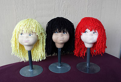 """Doll Wig - W232 Yarn Wig size 10""""(head) : CHOICE of Color. SPECIAL!!"""