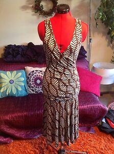 Stylish-OASIS-dress-size10-38-used-good-condition