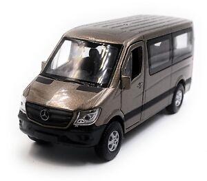 Mercedes-Benz-Sprinter-Fenetre-Marron-voiture-miniature-voiture-echelle-1-34-LGPL