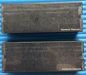 (LAST ONE) SEYMOUR DUNCAN ASB-BO-5 BLACKOUTS 5 BASS STRING PICKUP SET - BLACK