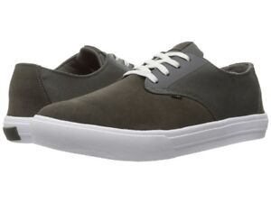 Image is loading Globe-Motley-Lyte-Skate-Shoes-8-Charcoal-White