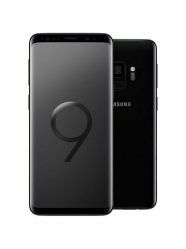 NEW UNLOCKED Samsung Galaxy S9 SM-G960U 64GB BLACK GSM T-MOBILE AT&T