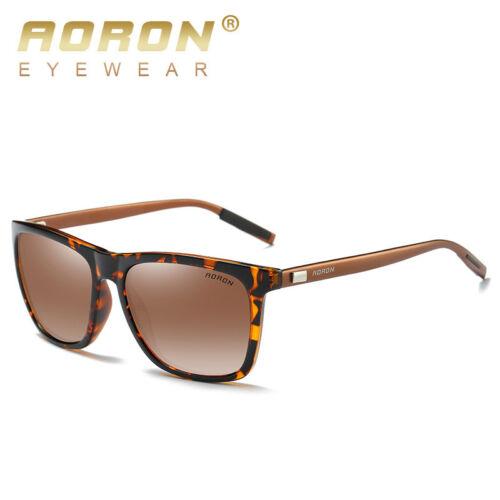 Men Polarized Photochromic Sunglasses Retro Outdoor Drving Eyewear UV400 Glasses