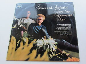 SIMON-AND-GARFUNKEL-Orig-1966GB-Estereo-LP-Perejil-Sage-Rosemary-and-tyhme