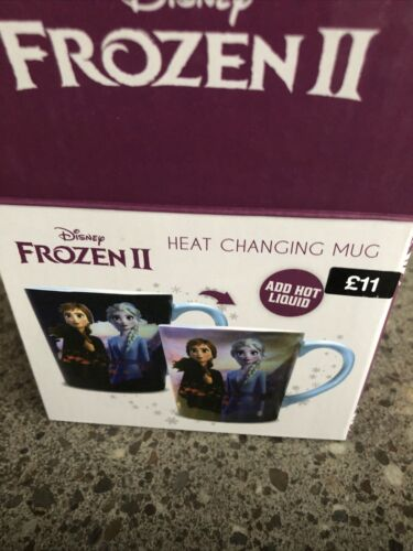 Bnwtags In Box. Disney Frozen 2 Destiny Heat Changing Mug