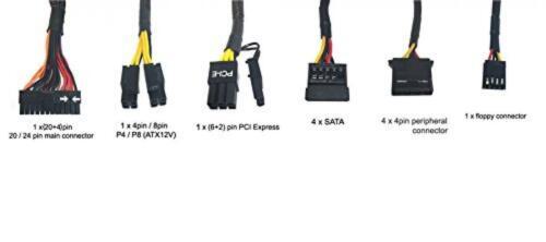 Apevia Warrior Modular Gaming Power Supply