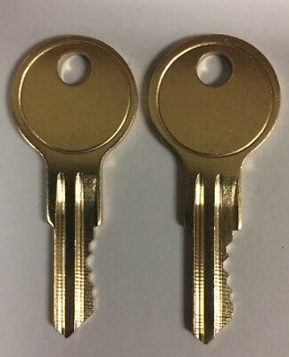 2  KEYS FOR BETTER BUILT  TOOL BOX KEYS Series 110-119 Made by Locksmith