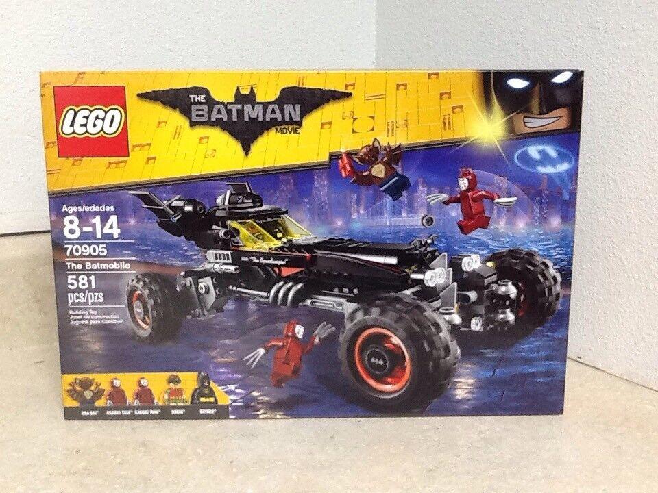 Lego, The Batuomo Movie, The Batmobile 70905 With 5 Minifigs   più preferenziale