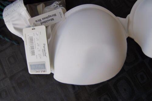 Panache Blanc préformé porcelaine Bustier U//W soutien-gorge
