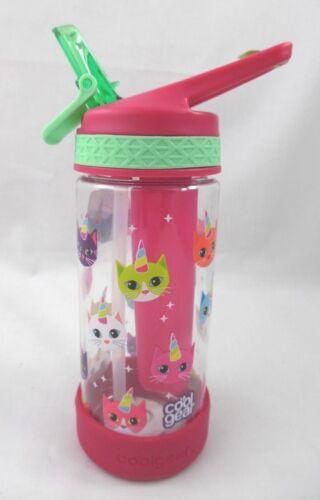 New Cool Gear Cat Unicorns 12 Oz. EZ Freeze Child/'s Water Bottle Sipper More!