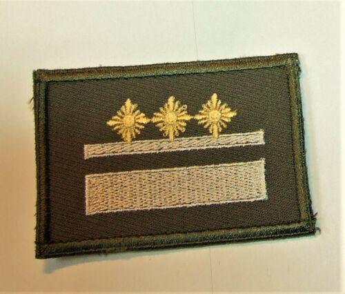 NVA Ärmelabzeichen Oberleutnant zum neuen Strichtarnanzug Felddienst ab 1990