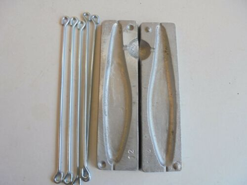 Weight mould leadgill lure mould 16oz plus 5 free wires.
