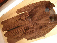 real fur genuine vintage coat mink collar ? lamb fur small medium 8 10 12 (no I)
