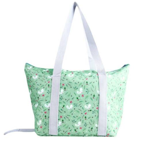 Portable Waterproof Foldable Insulation Lunch Bag Tote Pouch Cooler Bag New 6A