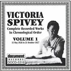 Complete Recorded Works, Vol. 1 (1926-1927) by Victoria Spivey (CD, Mar-1995, Document (USA))