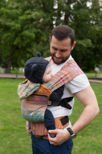 fbd3b81e157 Image is loading Karaush-Kuzma-Rainbow-Opal-growing-ergo-baby-carrier