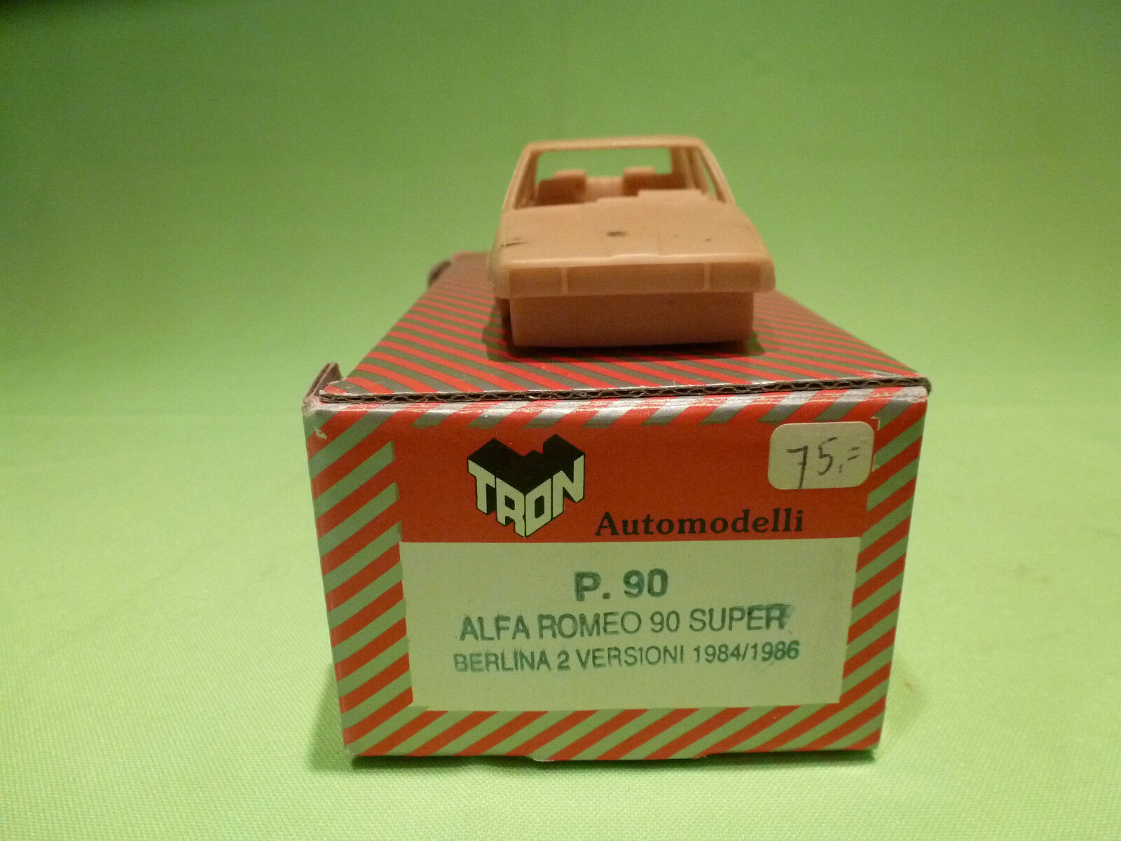 TRON  1 43  ALFA 90  BERLINA 2 VERSIONI   - UNBUILT KIT  -   IN GOOD CONDITION