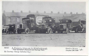 Middlesbrough-Gallafant-Removal-and-Haulage-Modern-Postcard-by-Pamlin