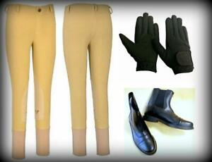 Tuffrider-Starter-Camp-Show-Riding-Package-for-children-Breeches-Boots-Gloves