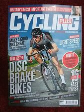 CYCLING PLUS MAGAZINE, AUGUST 2016, CERVELO R3, GIANT DEFY SLO TESTS ~ MINT