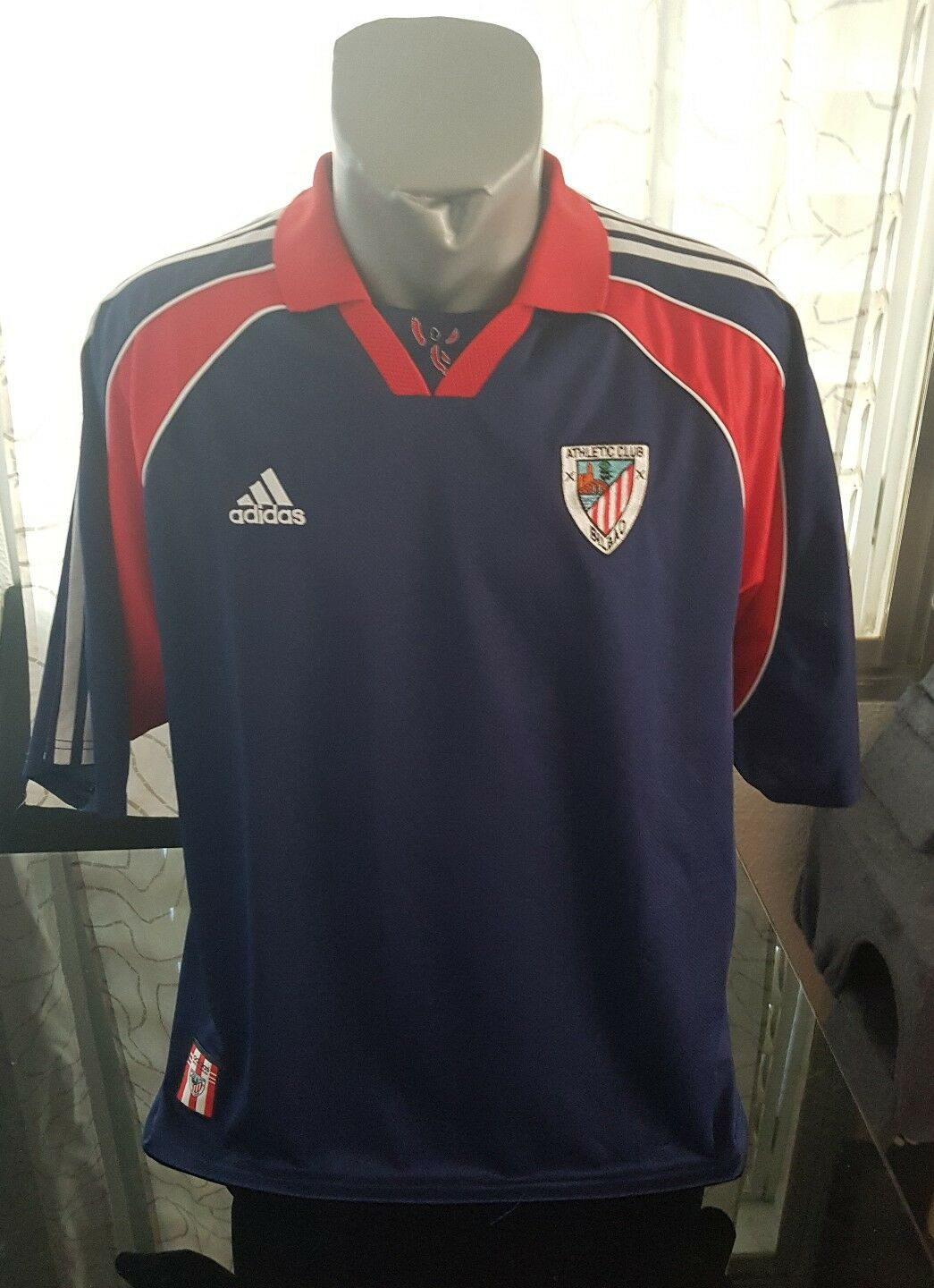 CAMISETA SHIRT VINTAGE 90'S ADIDAS ATHLETIC CLUB DE BILBAO Taille XL