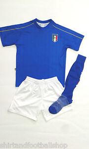 Completo-ITALIA-Calcio-Azzurri-Con-Nome-e-Numero-a-Richiesta-Europei-Francia